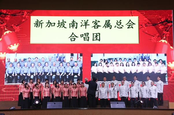 """客总合唱团参与""""新山华夏文化之夜"""""""